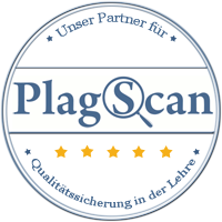 Unser Partner beim Erkennen von Plagiaten ist PlagScan