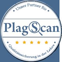 Unser Partner beim Erkennen von Plagiaten ist PlagScan